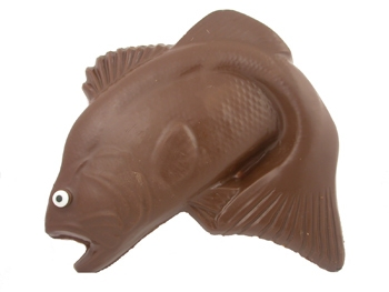 Solid Chocolate Trophy Bass