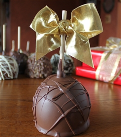 Milk Chocolate Dipped Caramel Apple
