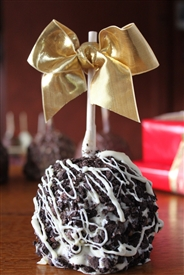 Oreo Covered Caramel-Chocolate Apple