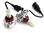 H8, H9, H11 Replacement Motorcycle LED Headlight Bulb for Sport Bikes, Cruisers, & Autos