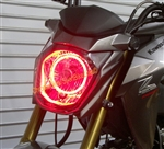 SPORTBIKE LITES Plazma LED Headlight Angel Eye Halo Ring Kit for Kawasaki ZX10R