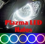SPORTBIKE LITES Plazma LED Headlight Angel Eye Halo Ring Kit for Honda CBR 500R