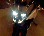 KTM RC390 LED Headlight bulb Upgrade Kit