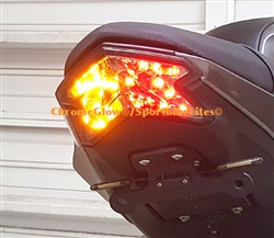 SPORTBIKE LITES KAWASAKI ZX6 & Z125 Pro INTEGRATED BRAKE LIGHT