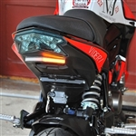 New Rage Cycles Kawasaki Z125 LED Turn Signal Fender Eliminator Kit
