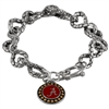 Alabama Toggle Charm-Link Bracelets Crimson Tide