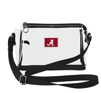 ALABAMA SMALL CLEAR HANDBAG