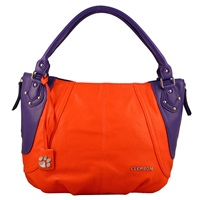 The Sultan Handbag Purse Clemson Tigers