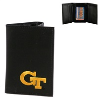 Men's Tri-Fold Wallet Georgia Tech Yellow Jackets