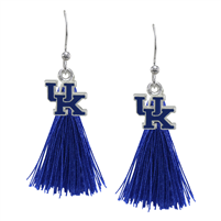 Tassel Charm Earrings University of Georgia