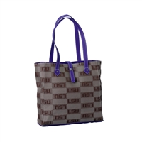 LSU Signature Handbag Toasty