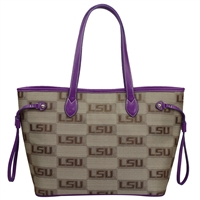 LSU Safari Handbag