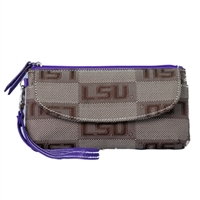 LSU Signature Wrist Bag Wilma