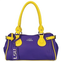 The Baywood Handbag Purse LSU Mike the Tiger
