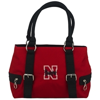 Lily Handbag Nebraska Huskers Shoulder Bag