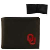 Oklahoma Men's Bi-Fold Wallet Sooner Billfold