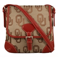 The Trendsetter Crossbody Bag Oklahoma Sooners