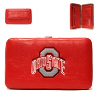 Ohio State OSU College Clutch Wallet Red