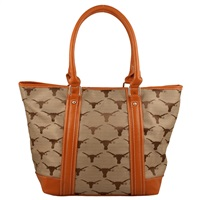 The International Handbag Shoulder Tote Bag Purse University of Texas