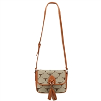 The Vintage Handbag Crossbody Bag Texas Longhorns