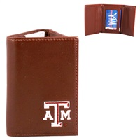 Men's Tri-Fold Wallet Texas A&M Aggies Collegiate Wallet