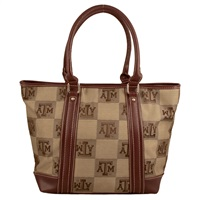 The International Handbag Shoulder Tote Bag Purse Texas A&M