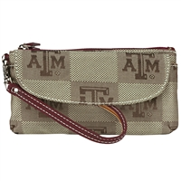 Texas A&M Signature Wrist Bag Wilma