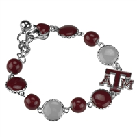 Ornate Beaded Bracelet | Texas A&M Aggies