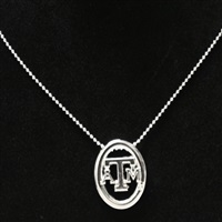 Oval Pride Necklace | Texas A&M