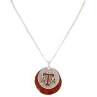 Silver Necklace Texas A&M Aggies