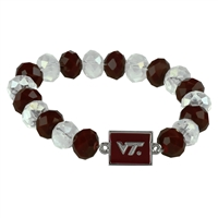 Homecoming Bead Bracelet | Virginia Tech