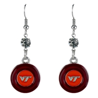 Color Pride Earrings | Virginia Tech