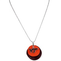 Silver Necklace Virginia Tech Hokies