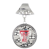 Ornate Scarf Pendant Texas Tech University
