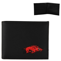 Arkansas Men's Bi-Fold Wallet Billfold Razorback