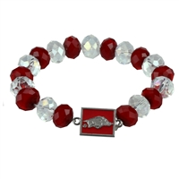 Homecoming Bead Bracelet | Arkansas