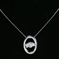 Oval Pride Necklace | Arkansas