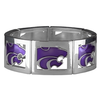 Square Stretch Wildcats Silver Jewelry