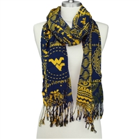 Multi Print Mountaineers Scarf