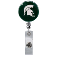 Michigan St Circular Lanyard
