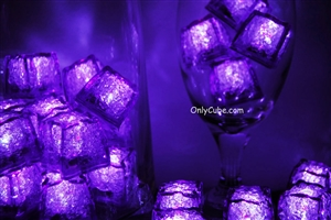 Amethyst Purple Jewel LiteCubes Light Up Ice Cubes