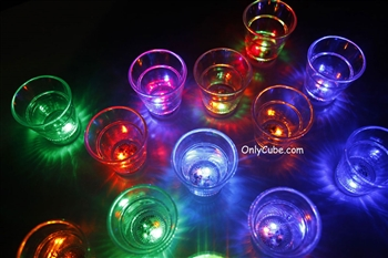 2oz LED Light Up Shot Glass