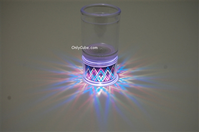 LiteRays Light Up Projection Shot Glasses- Dagger