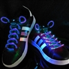 Blue LED Shoelaces