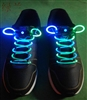 BiColor Blue Green LED Shoelaces