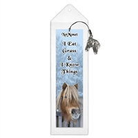 I Eat Grass and I Know Things Pony Bookmark