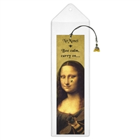 Bee Calm Mona Lisa Bookmark