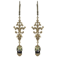 Gothic Teardrop Earrings