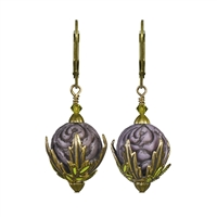 Raindrops on Roses Earrings