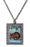 Alice in Wonderland - Cheshire Cat Necklace